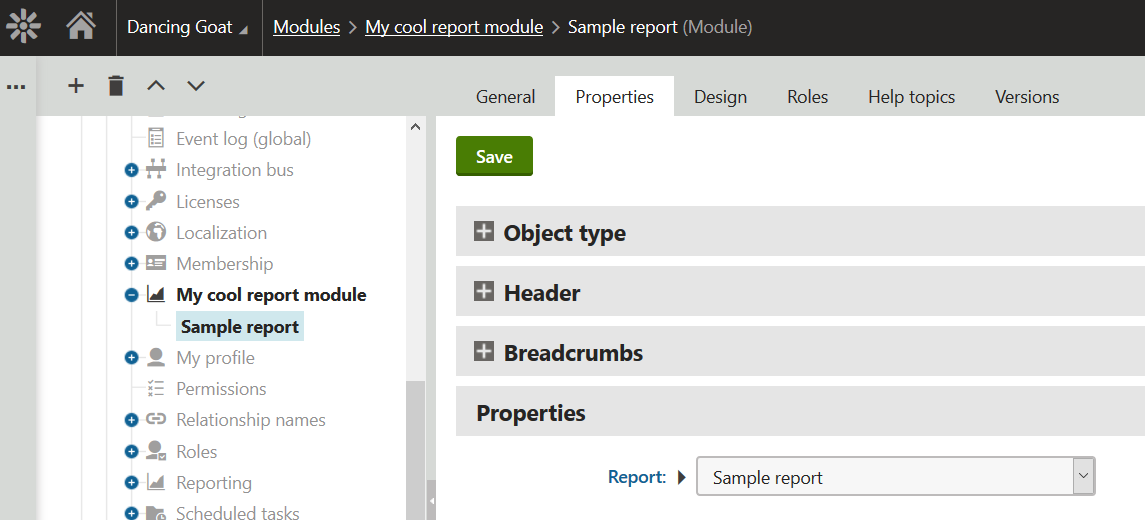 How to create your own cool custom report module in for How to create your own blog template